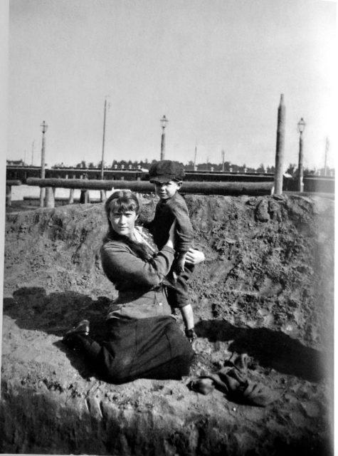 The Grand Duchess Anastasia Nikolaevna. 1916 year.