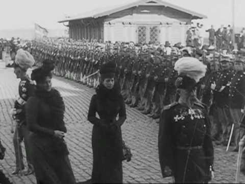 Tsar Nicholas II of Russia in Denmark 1901