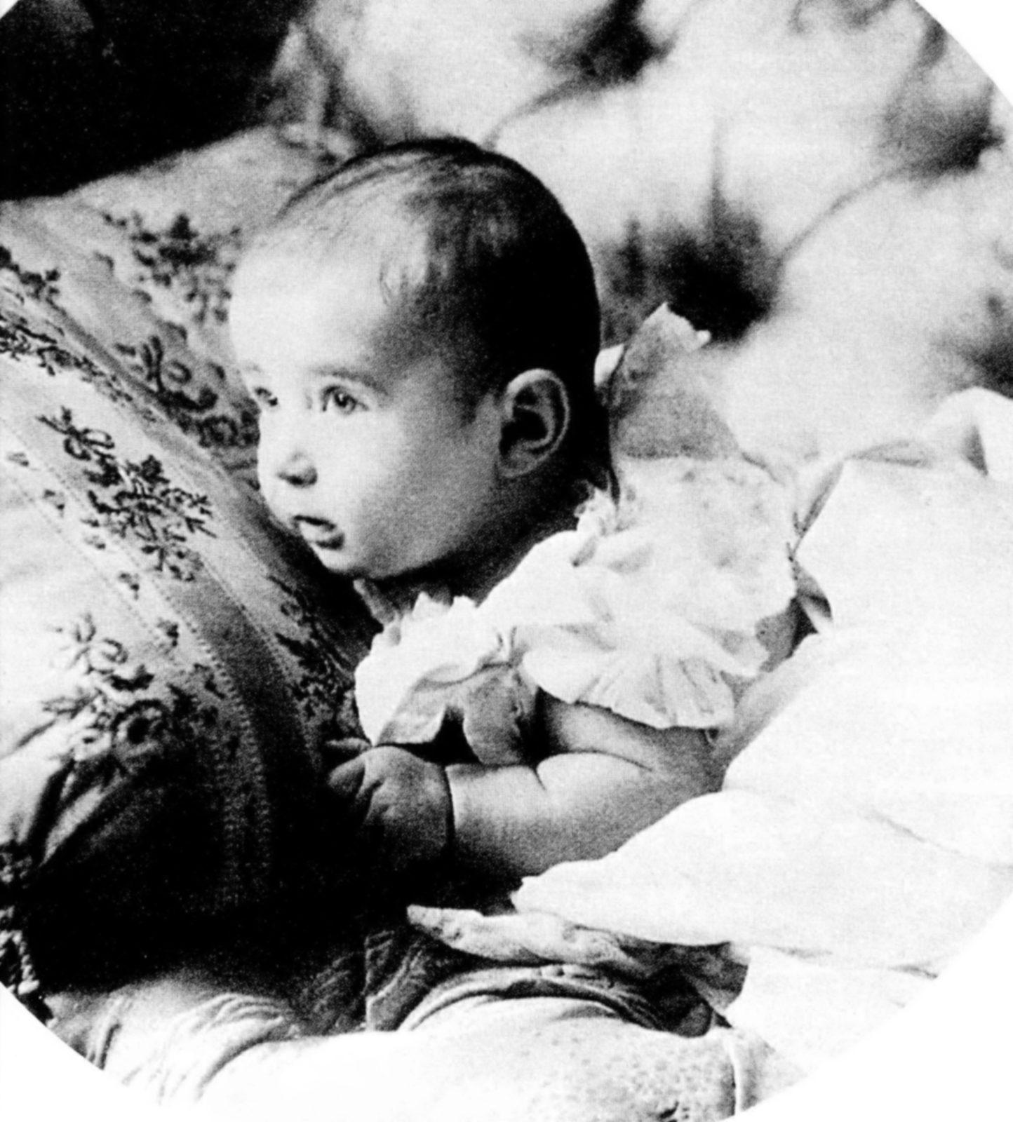 Tsarevich Alexey Nikolaevich son of Emperor Nicholas II and Empress Alexandra Feodorovna. 1904 - 1905
