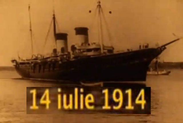 Vizita Familiei Imperiale Ruse la Constanta (14 iulie 1914) - Russian Royal Family at Constanta