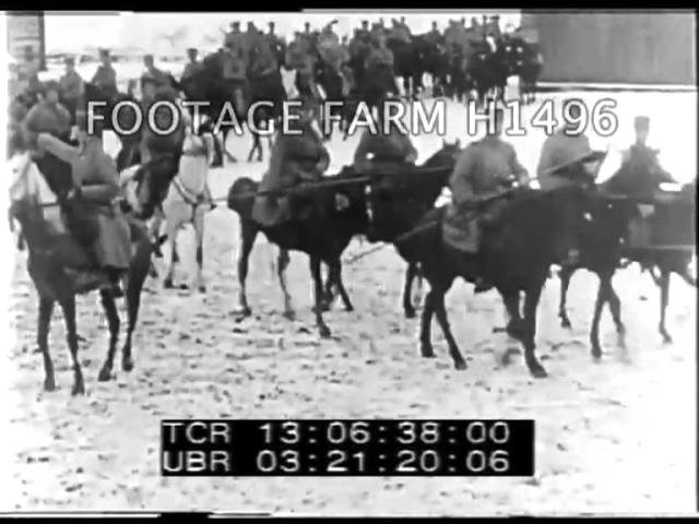 WWI Eastern Front; Russian Battles H1496-25 | Footage Farm