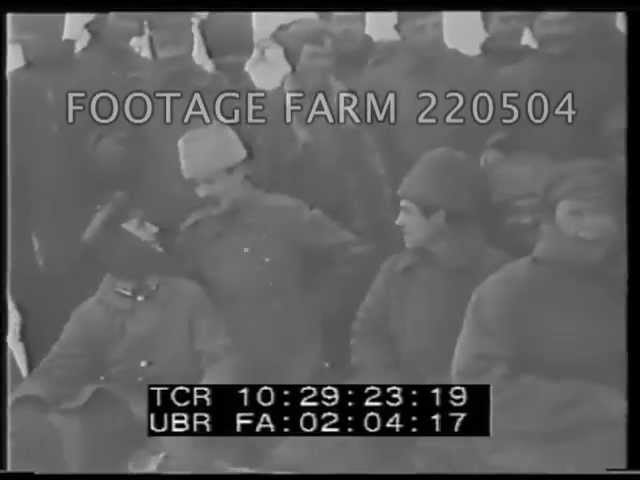 WWI Russian Troops 220504-07 | Footage Farm
