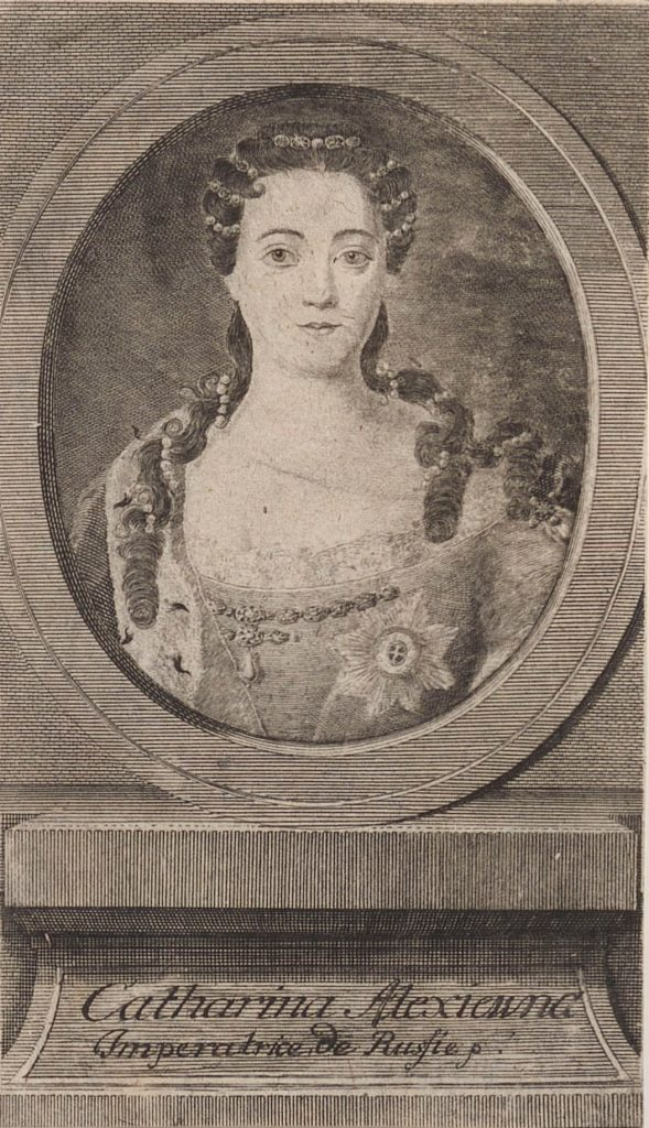 Catherine I, second wife of Peter I