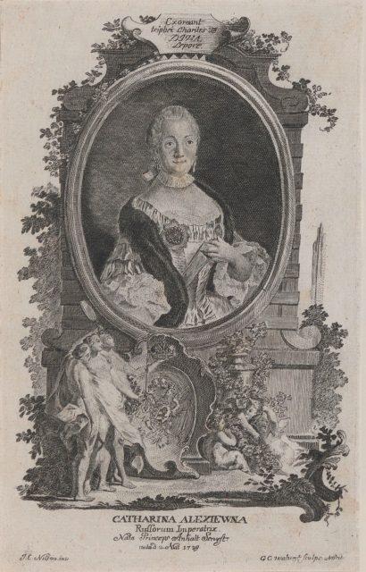 Catherine II - Ekaterina Alexiewna