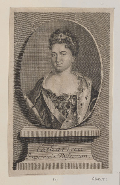 Catherine I - Imperatrix Russorum