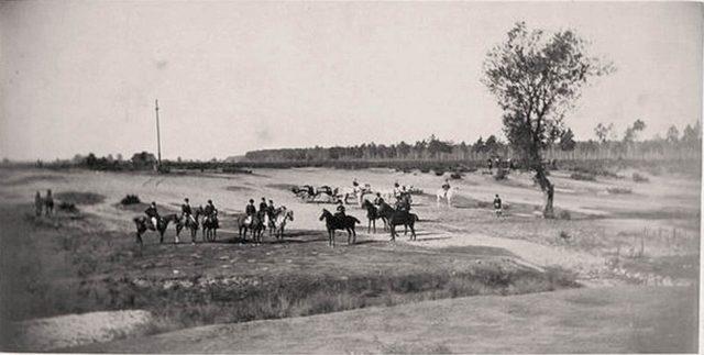 Alexander III on a hunt in Bialowieza