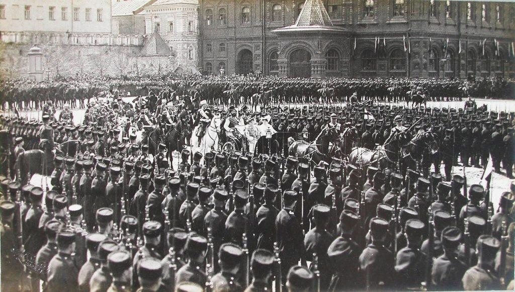 Emperor Nicholas II, Empress Alexandra Feodorovna, in Moscow, 1903