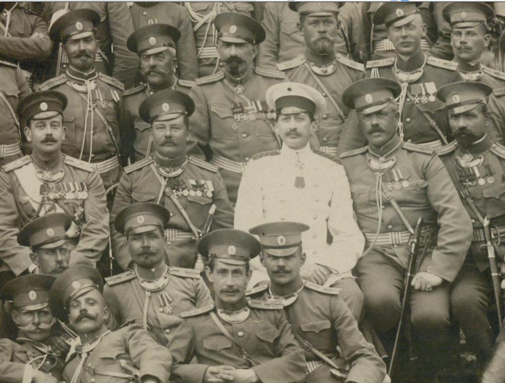 45 th Infantry Azovsky of His Imperial Highness Grand Duke Boris Vladimirovich regiment.