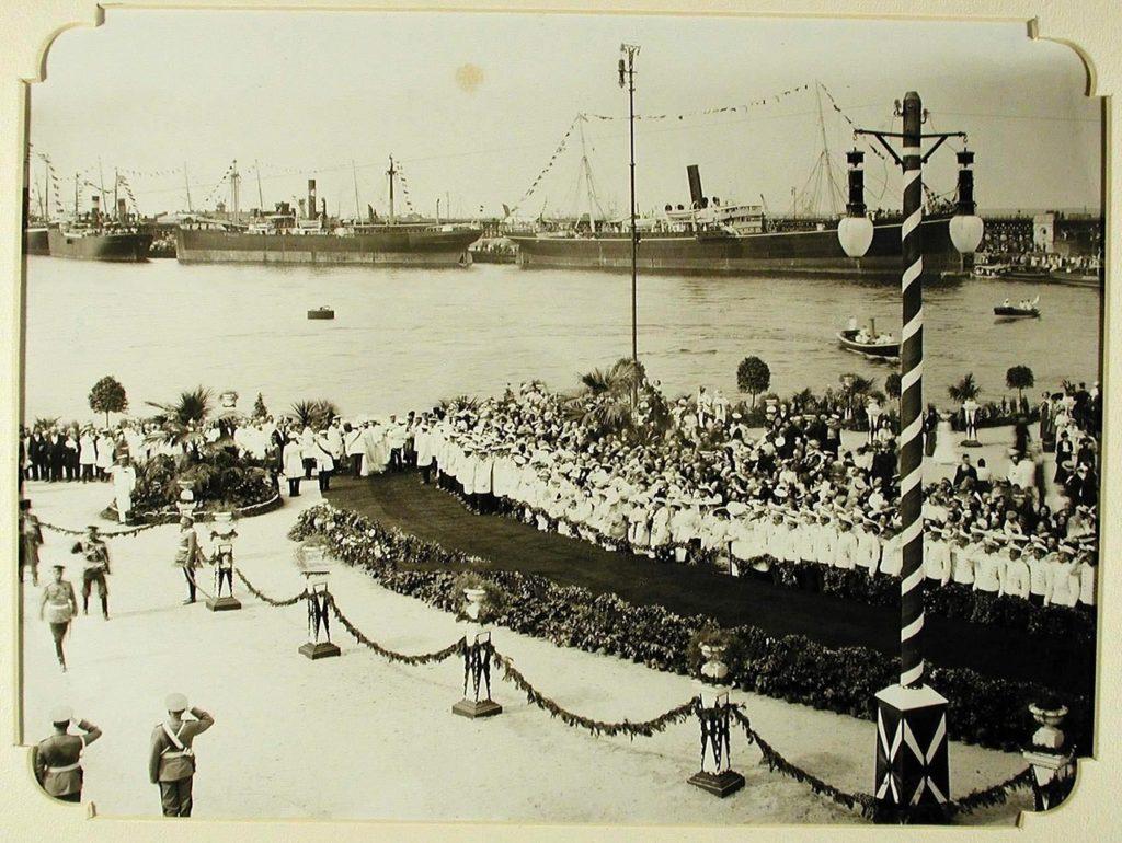 Arrival of Nicholas II to Odessa Sea Port, 1914-1915