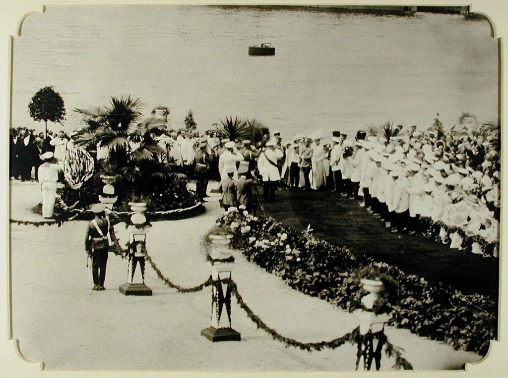 Meeting of Nicholas II in Odessa Port, 1914-1915