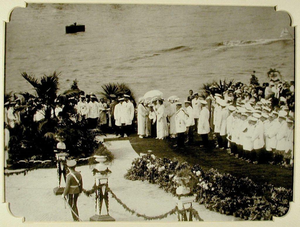 Arrival of Nicholas II and Tsarevich Alexei to Odessa, 1914-1915