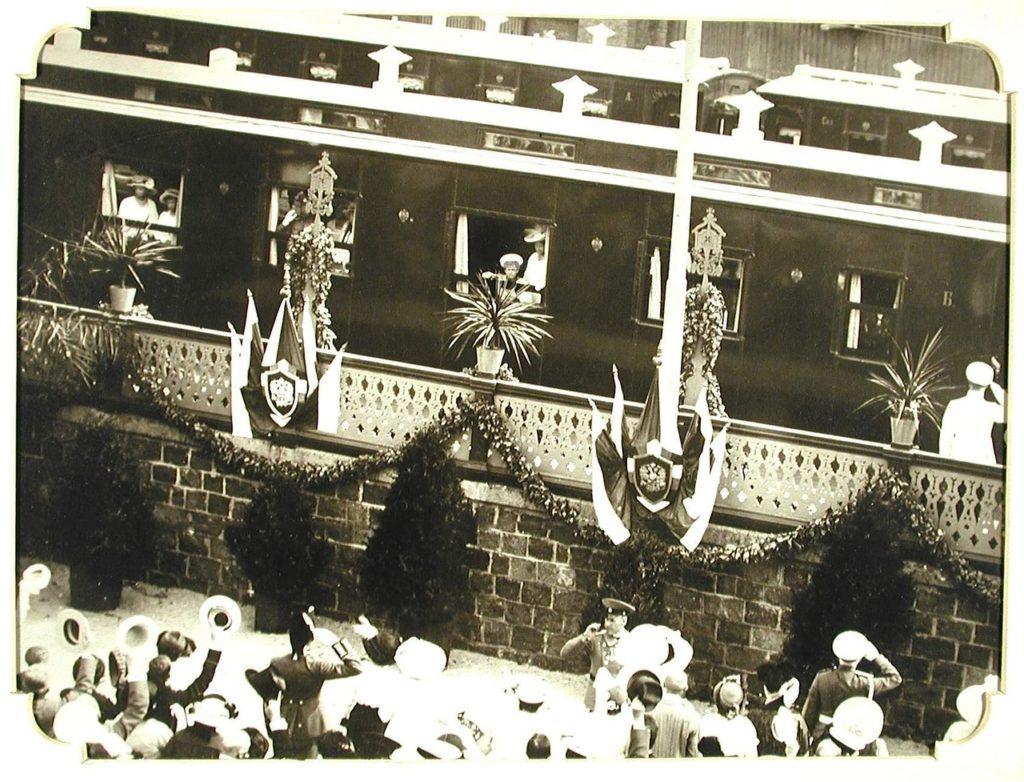 Arrival of Tsesarevich Alexei to Odessa, 1914-1915