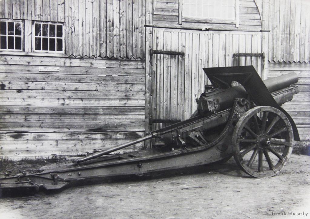 Artillery in Brest-Litovsk Fortress