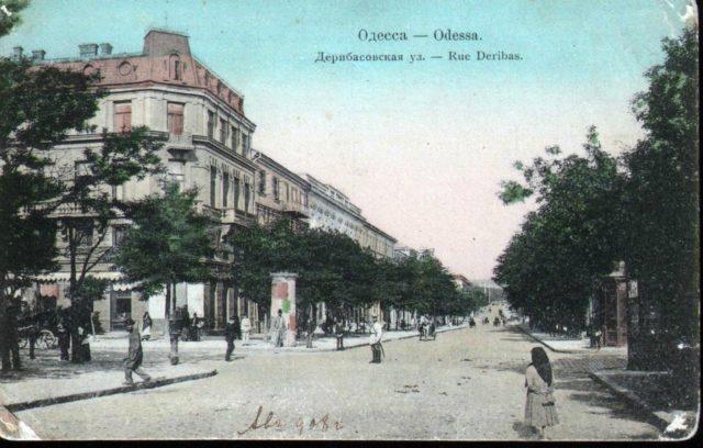 Deribasovskaya, Odessa, 1900-1914
