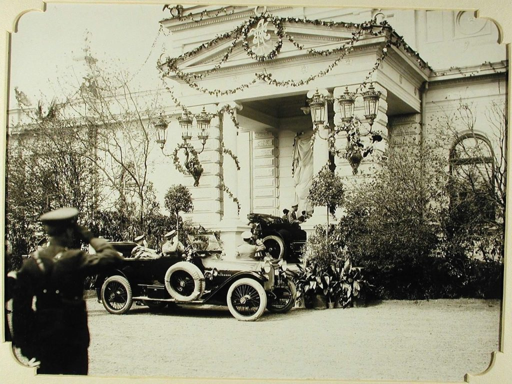 Nicholas II arrival. Odessa, 1900-1914