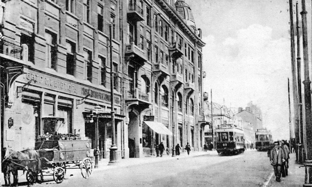 Odessa trams, 1900-1914