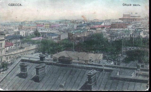 Odessa, Hand - colored postcard. 1900-1914