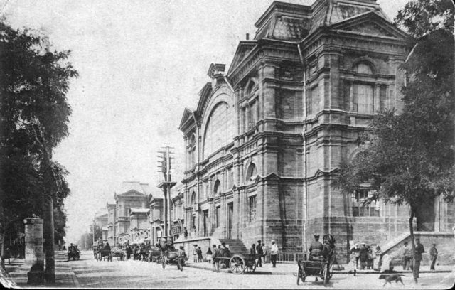 Odessa, new Burse building. 1900-1914