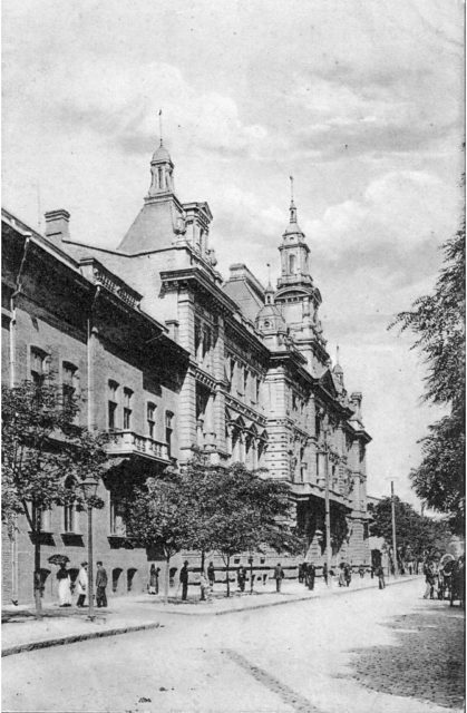 Odessa, commerce building. 1900-1914