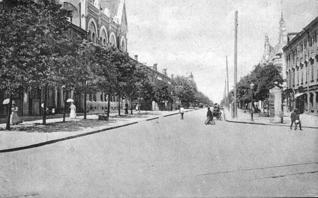 Summer day in Odessa, 1900-1914
