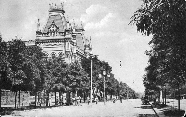 Odessa boulevard, 1900-1914