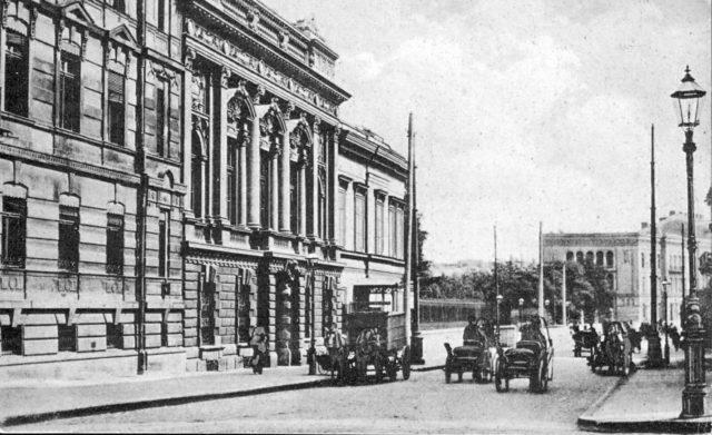 Odessa street view, 1900-1914