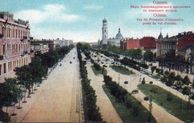Odessa, Alexandrovsky Prospect 1900-1914