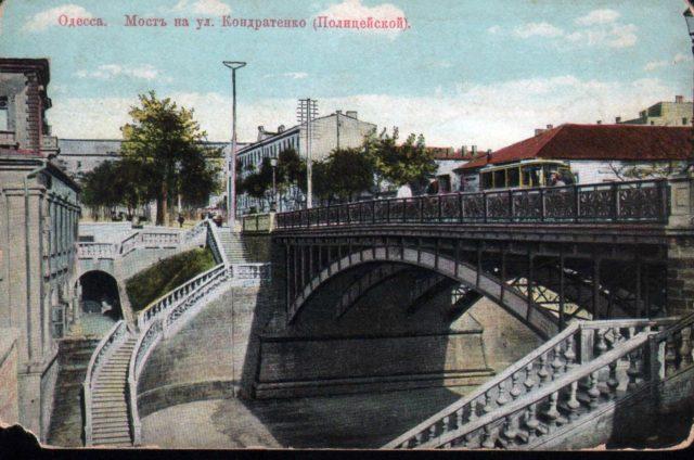 Odessa, Bridge 1900-1914