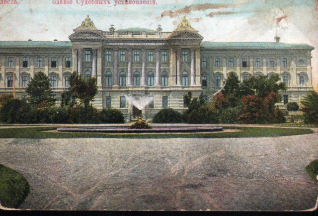 Odessa, Courthouse 1900-1914