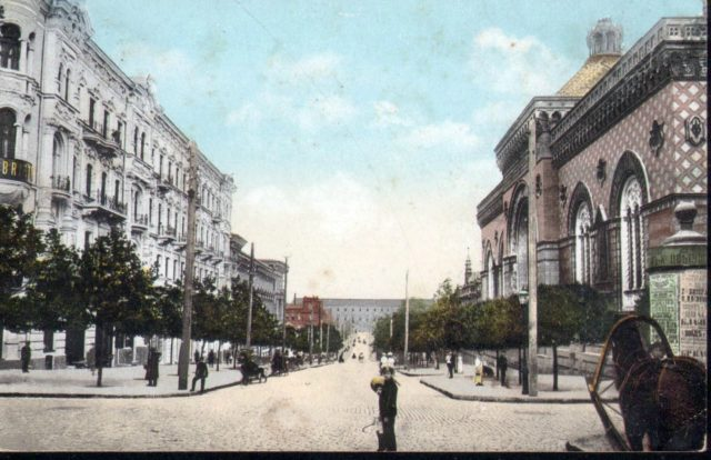 Odessa, Exchange building, Burse 1900-1914