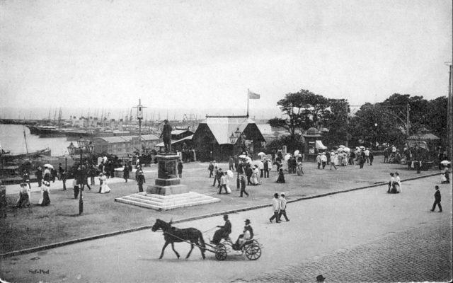 Odessa harbor, 1900-1914