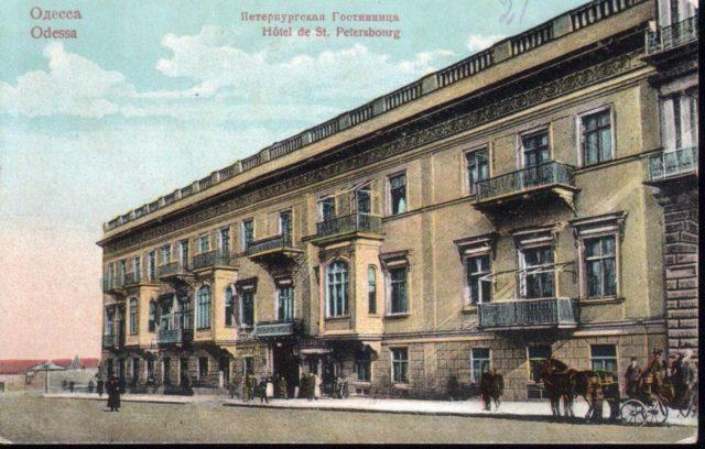 Odessa, Hotel St. Petersburg, 1900-1914