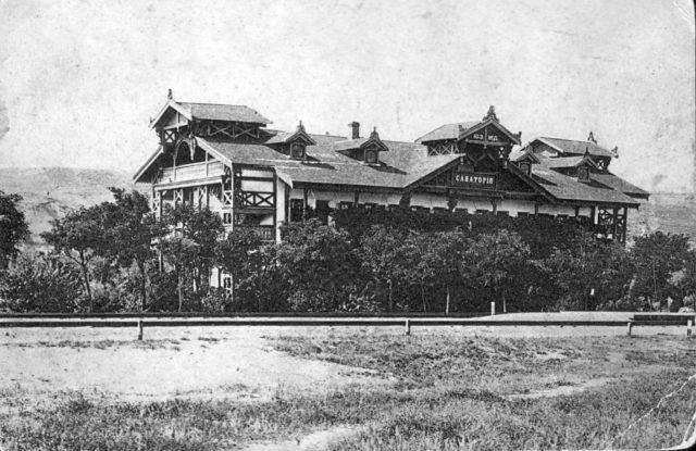 Odessa, Southern Railway sanatorium 1900-1914