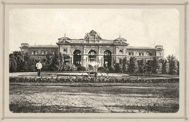 Odessa Train Station, 1900-1914