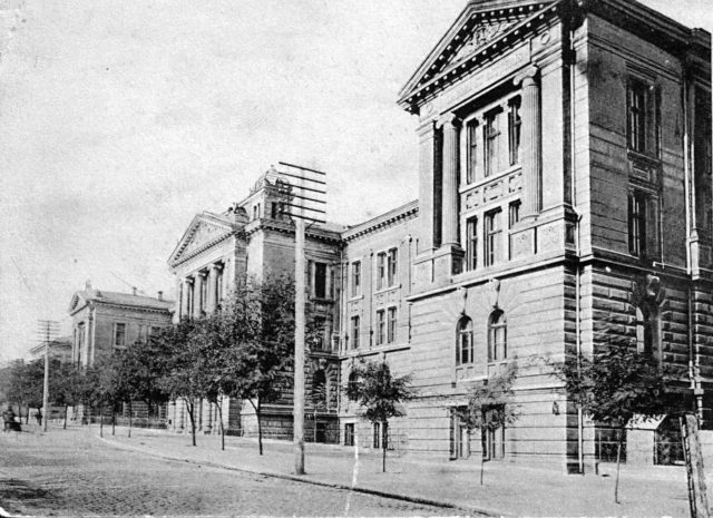 Odessa University. Faculty of Medicine, 1900-1914