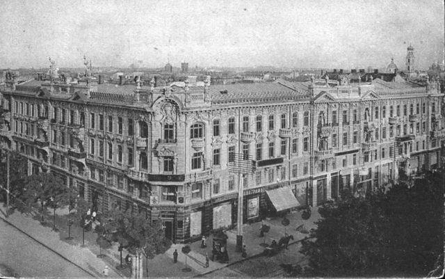 Passage of Mendelevich Odessa, 1900-1914
