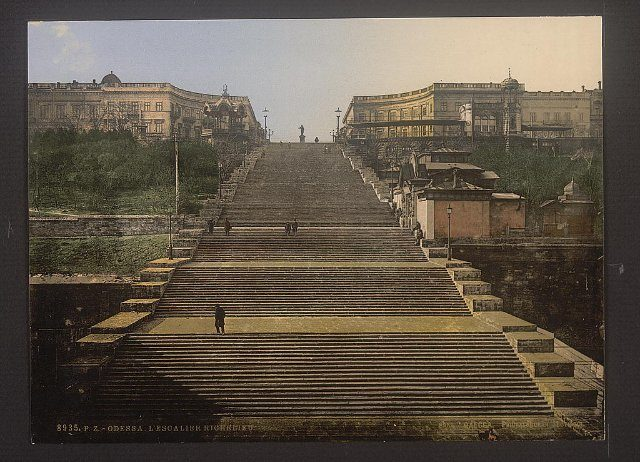 Potemkin Stairs, Potemkin Steps, a giant stairway in Odessa