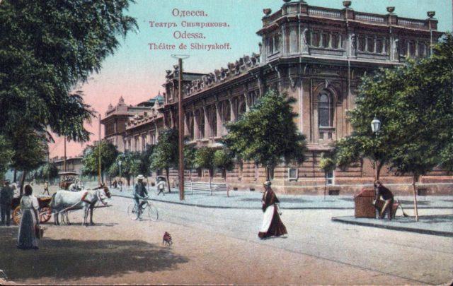 Sibryakov theatre, Odessa, 1900-1914
