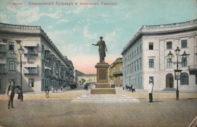 Statue of the Duc de Richelieu, Odessa