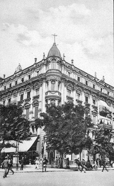 The Libman coffee house. Odessa, 1900-1914