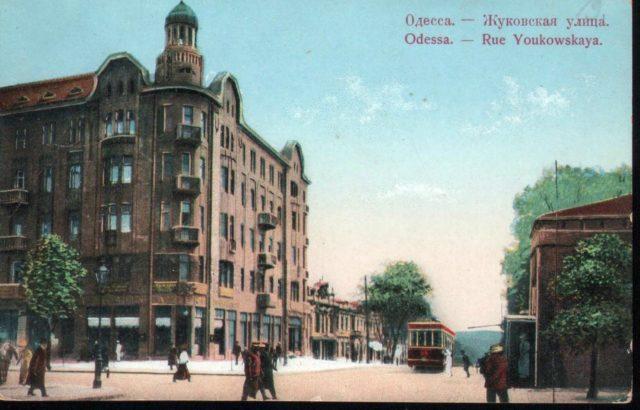 Zhukovskaya st, Odessa, 1900-1914