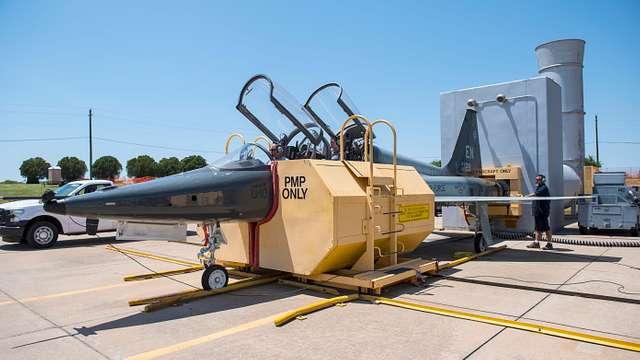 80th FTW T-38C Talon diagnostic test