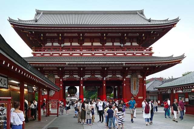 Sensō-ji.     Asakusa  Tokyo.