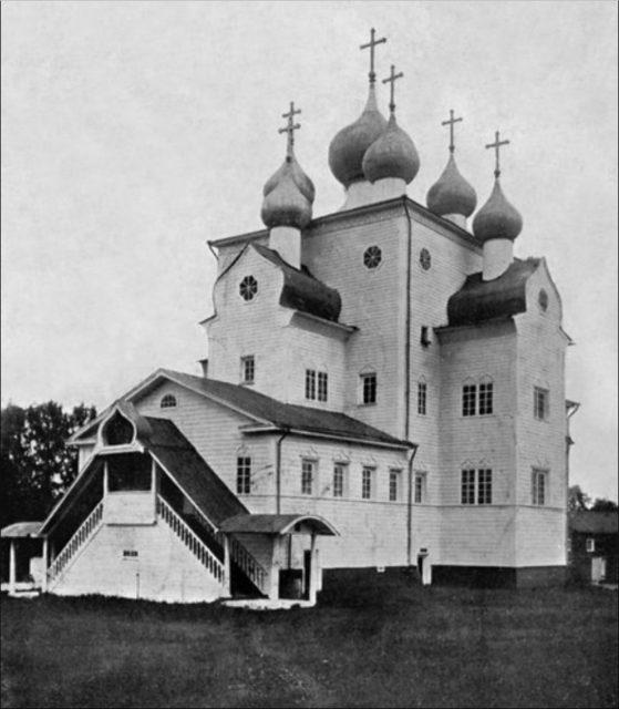 Mikhail Archangel Cathedral. Shenkursk.
