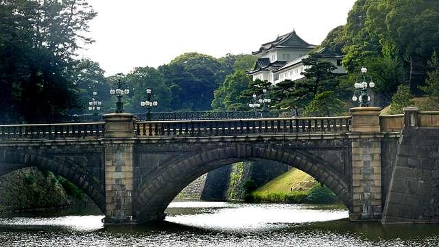 Nijubashi Bridge. Tokyo.