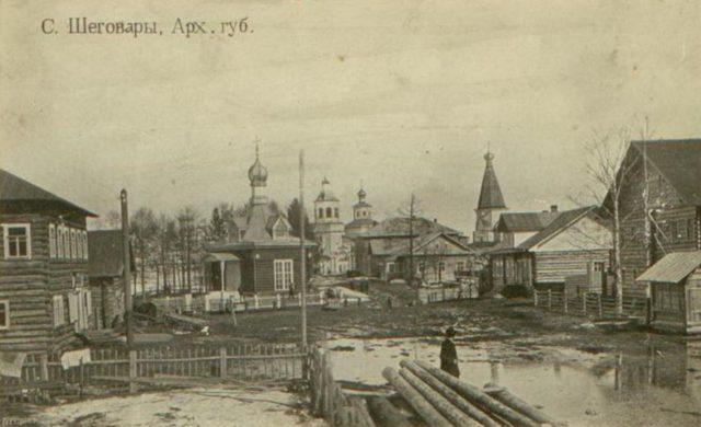 Shegovary, Shenkursk surroundings