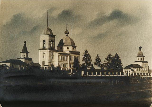 Monastery in Shenkursk