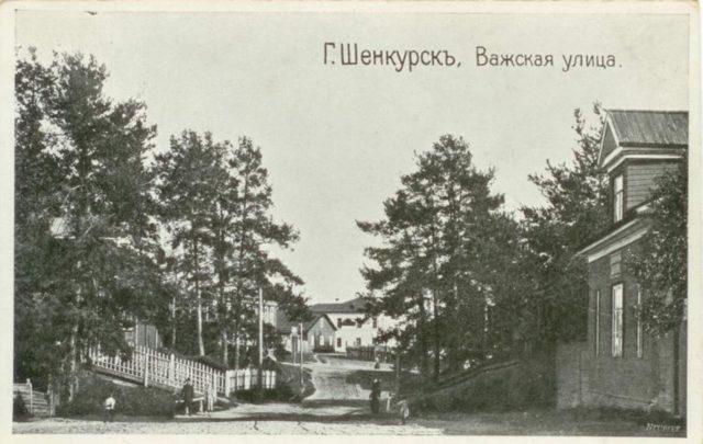 Shenkursk - Vazhskaya st