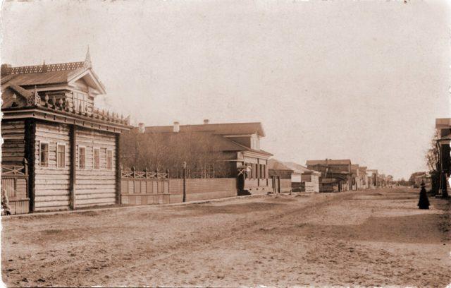 Shenkursk central street
