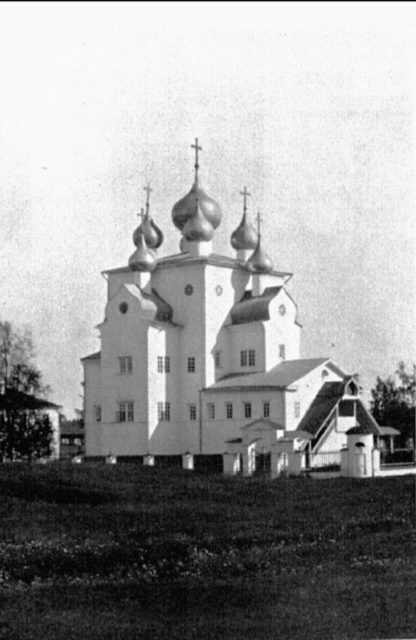 Shenkursk - The Cathedral of Michael the Archangel